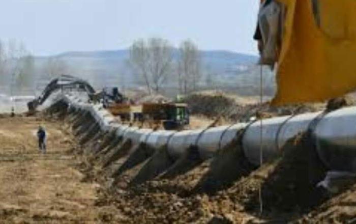 Pipeline in Yaqui territory.