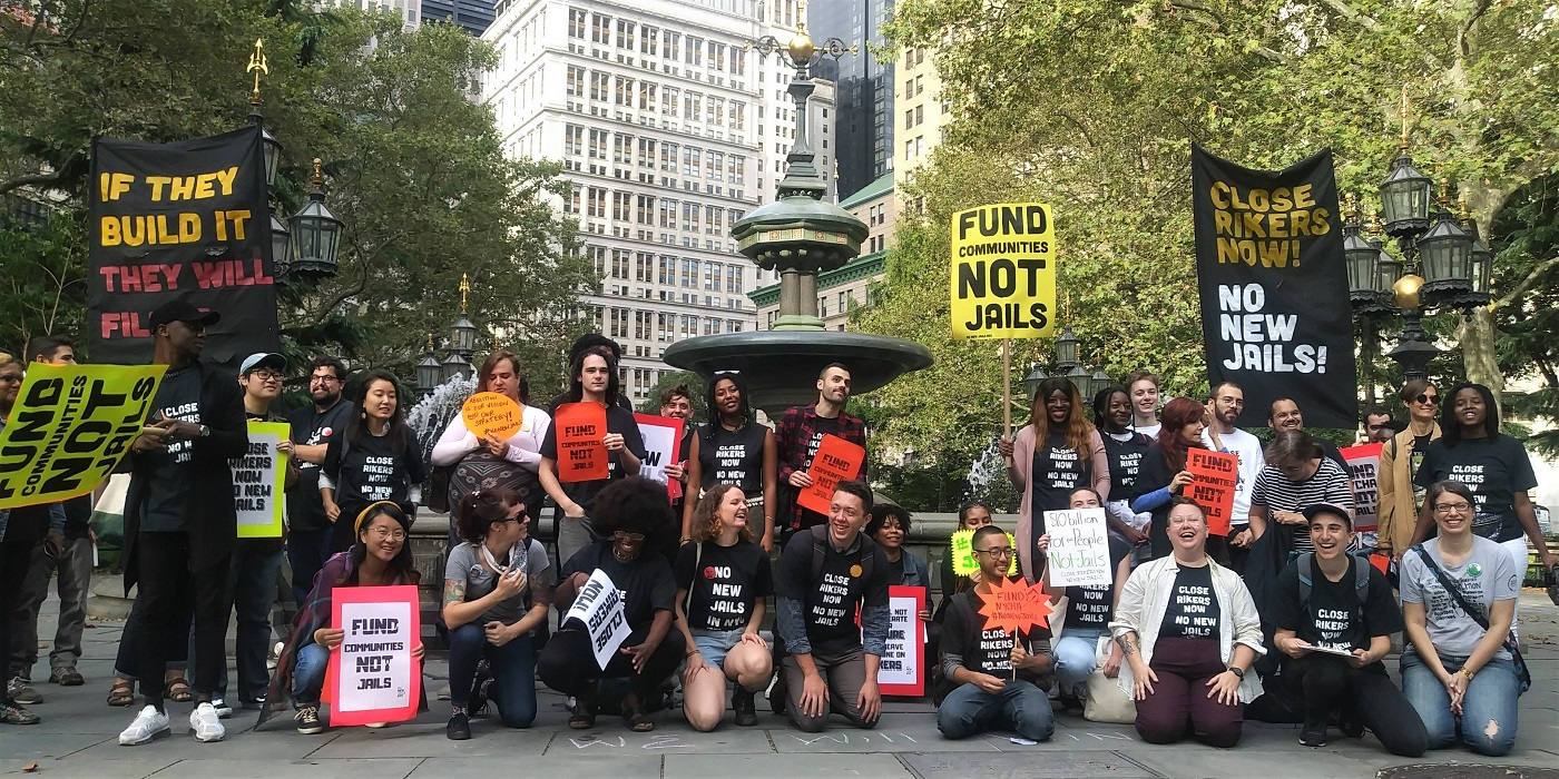 Photo of NYC: Fight continues for 'No new jails!'