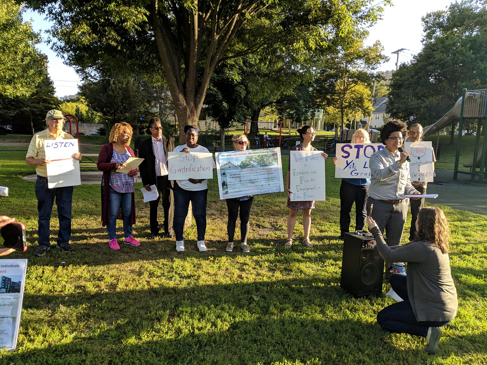 New Haven activists organize vs. regressive lead safety law, new rezoning, urban development efforts