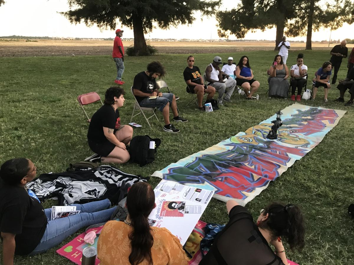 Sacramento commemorates Black August
