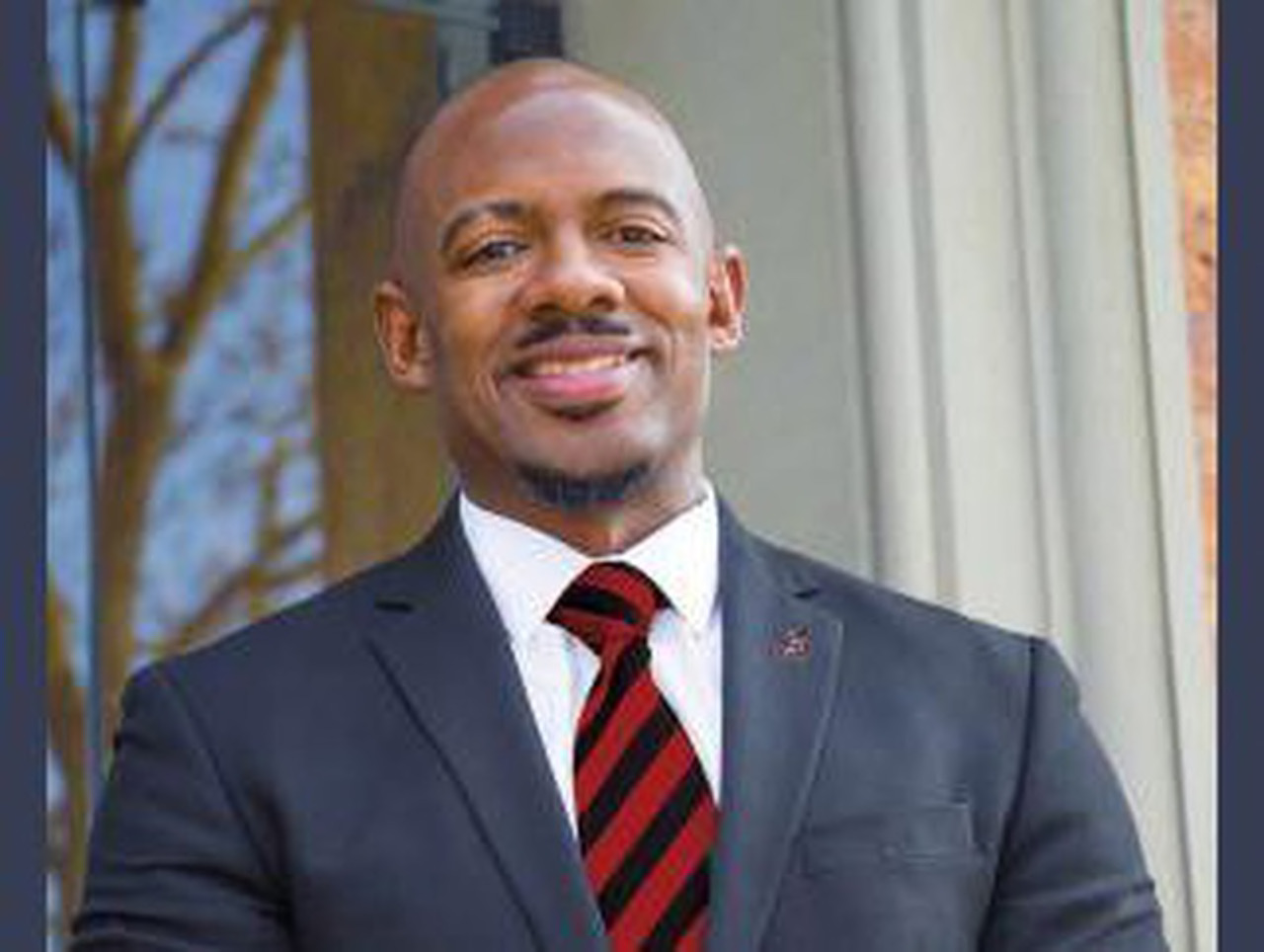 Photo of Black Dean of Students Jamie Riley fired in Alabama for telling the truth