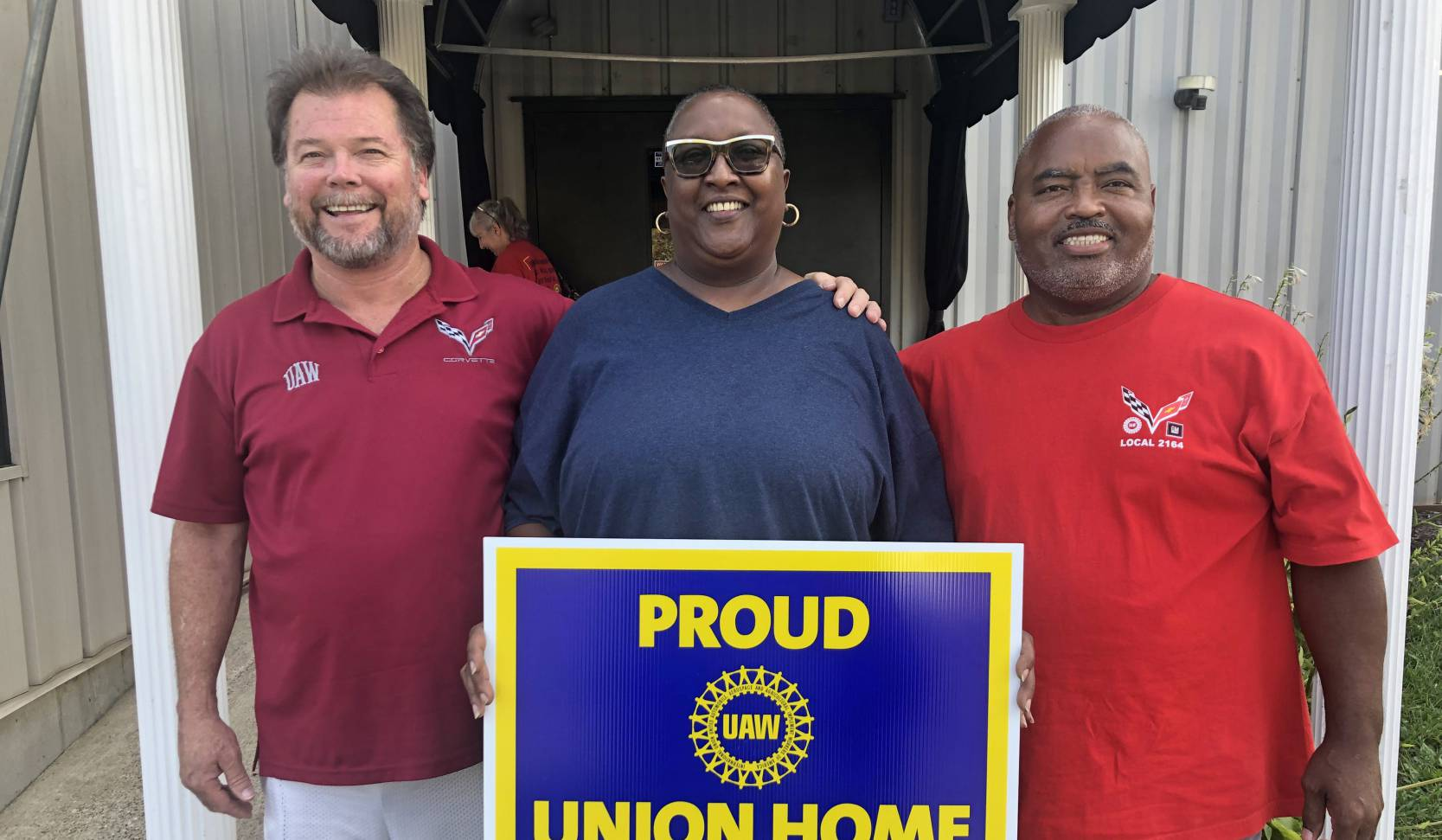 GM workers hold strong nine days on strike