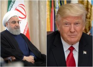 Rouhani y Trump. Gráfica de Liberación