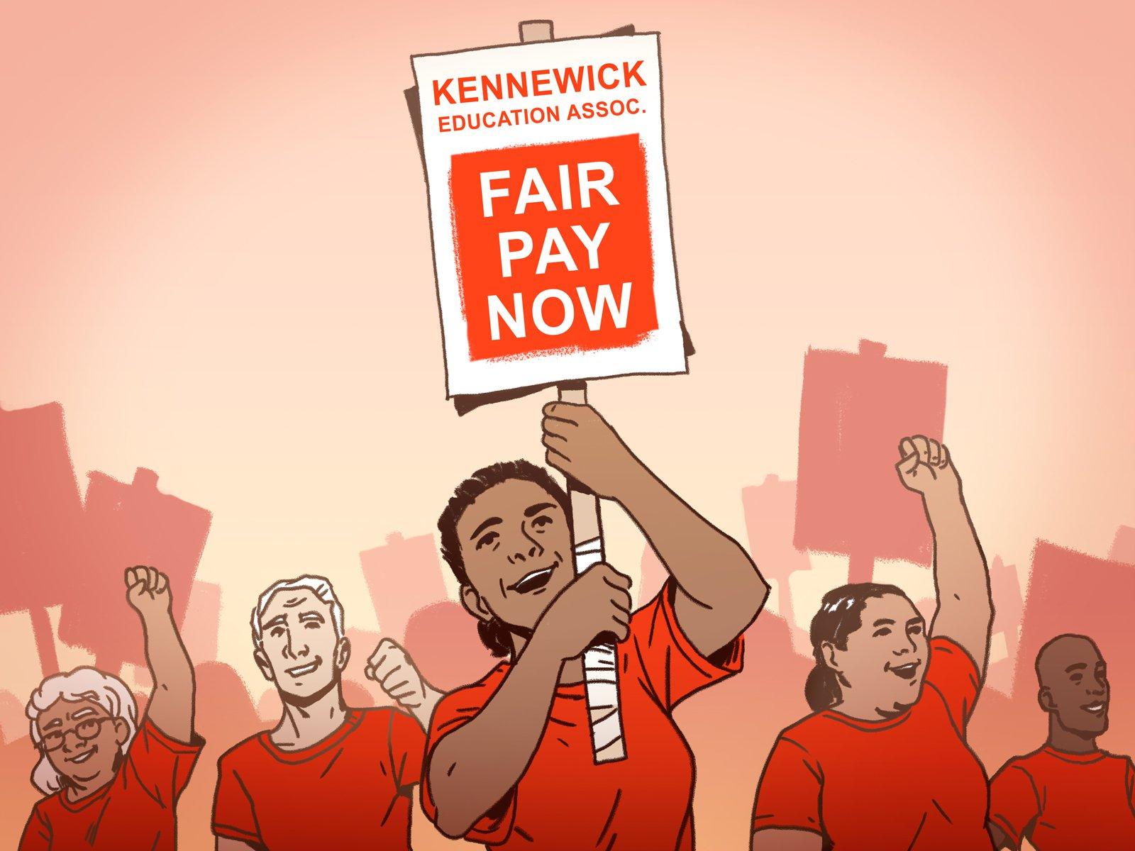 Photo of La huelga de maestros de Kennewick muestra el poder del sindicato en el estado de Washington
