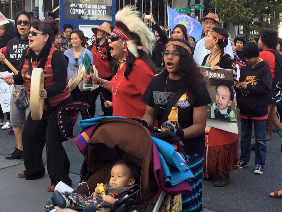 Celebrate continuing resistance on Indigenous People's Day