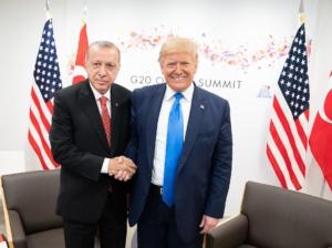 Erdogan and Trump. Public domain image.