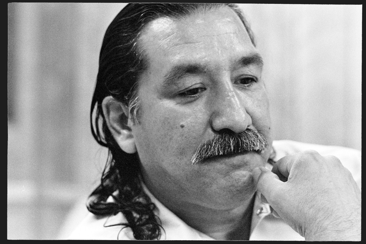 Photo of Leonard Peltier subjected to unjust lockdown in prison: Write to the warden now!