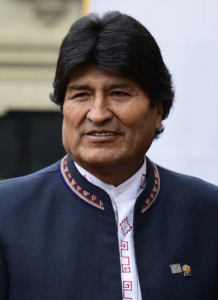 Bolivian president Evo Morales. Photo: Ministerio de Relaciones Exteriores. https://creativecommons.org/licenses/by-sa/2.0/deed.en
