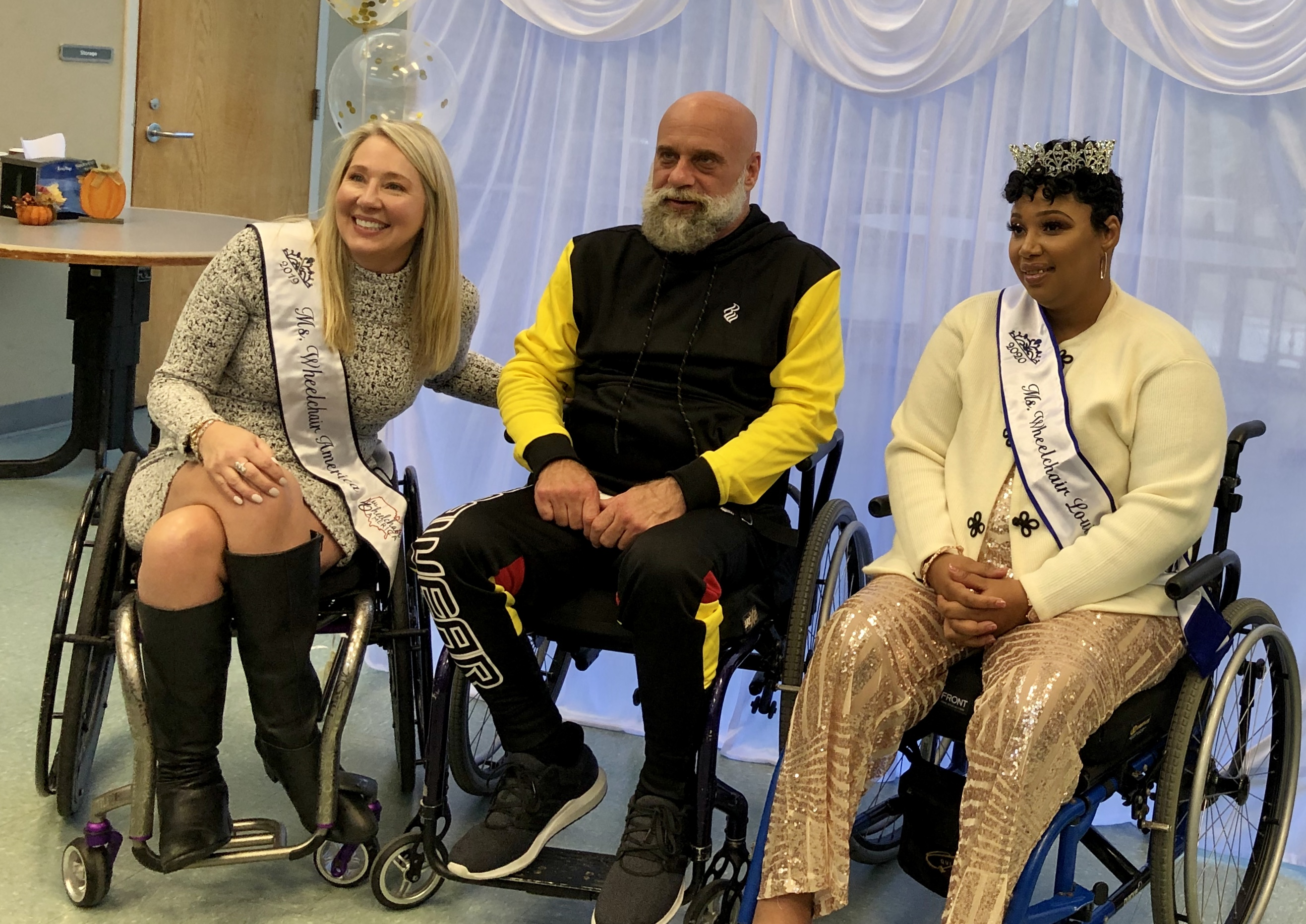 Photo of Ms. Wheelchair: People listen 'when you wear a crown and sash'