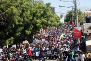 Los manifestantes salen a las calles de Haití. Foto: Wikimedia Commons