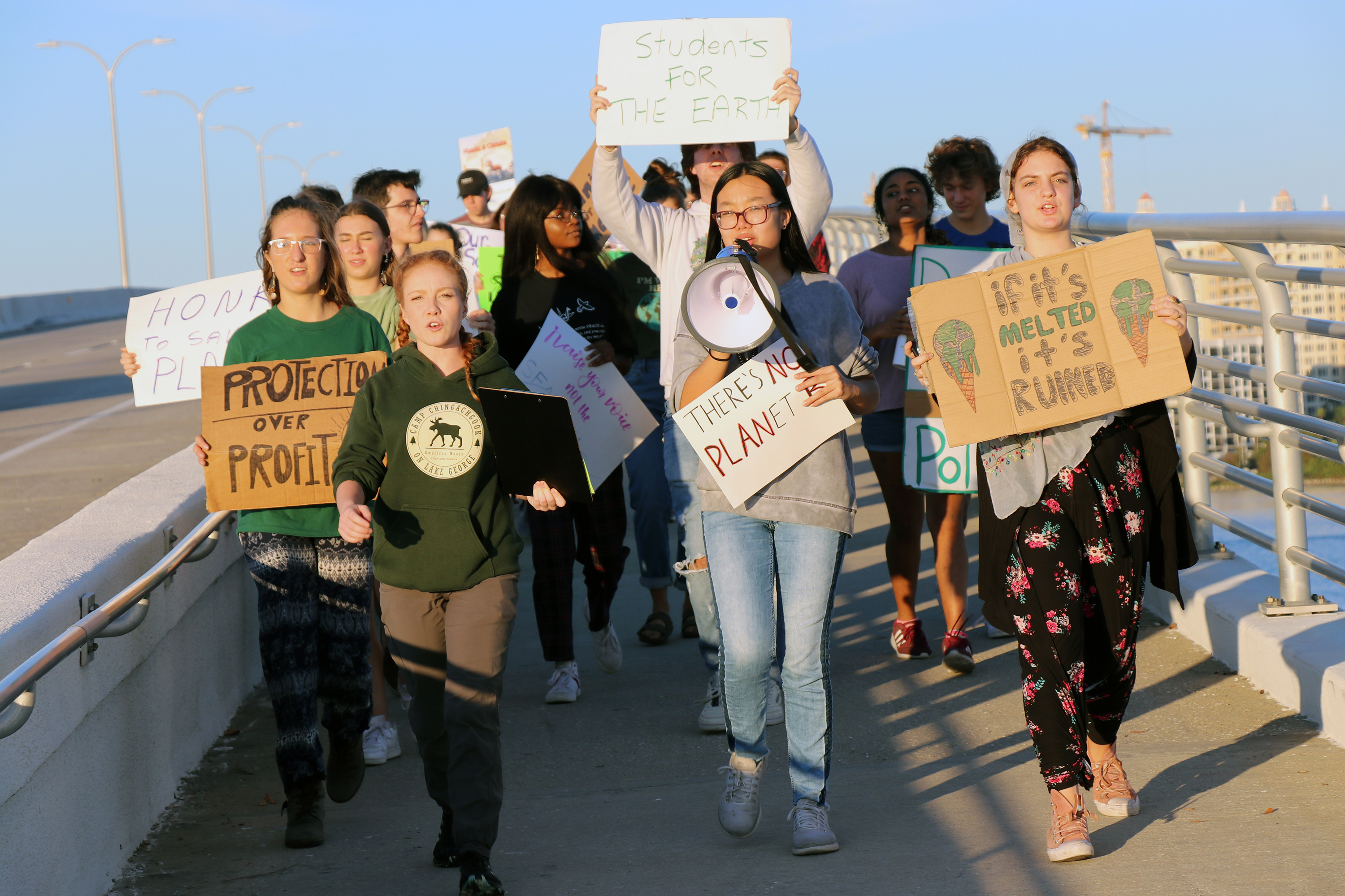 Photo of Sarasota students join global climate strike
