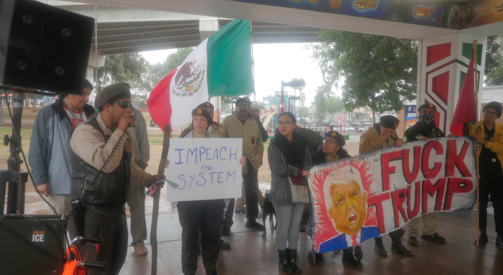 San Diego coalition rallies for national liberation at Chicano Park