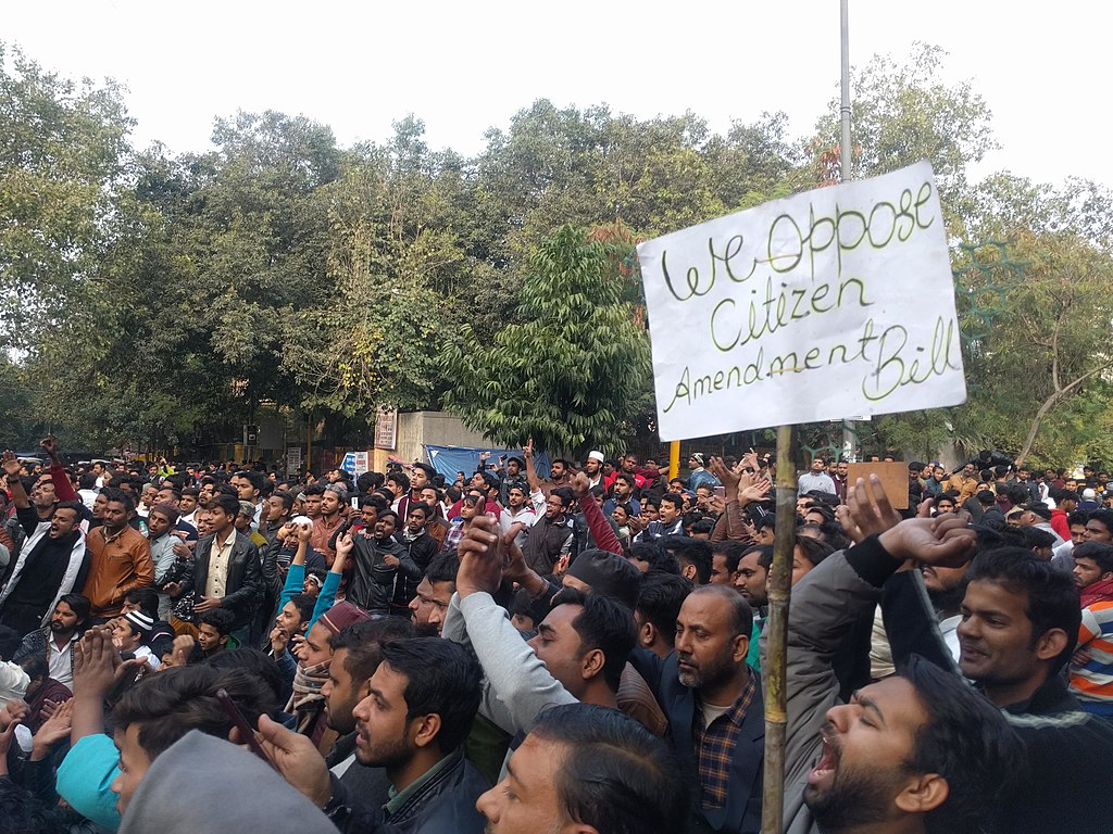 Huge protests in India call for unity vs. government's effort to expel Muslims
