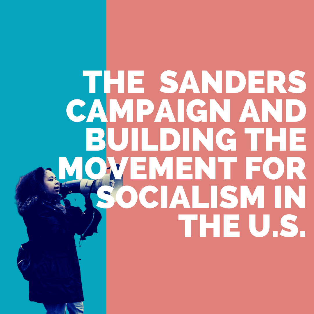 Photo of AUDIO: The Sanders campaign and building the movement for socialism in the U.S.