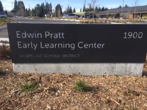 Edwin Pratt Early Learning Center, Shoreline, Wa. Liberation Photo.