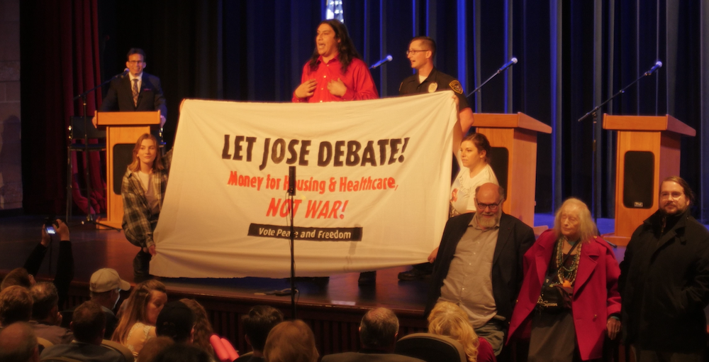 Photo of Jose Cortes intervenes in CA50 congressional candidate forum