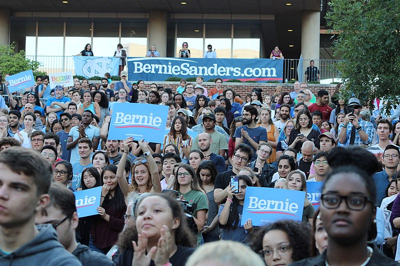 Photo of The Bernie Sanders campaign and building the movement for socialism in the US
