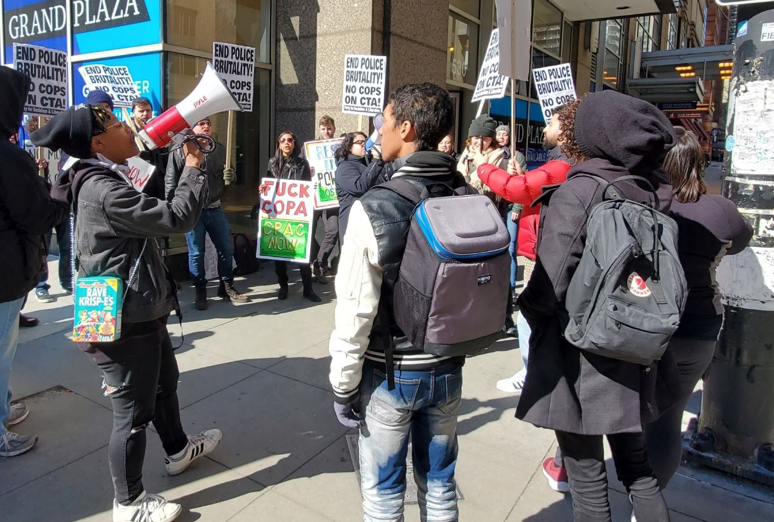 Chicago activists demonstrate against police violence