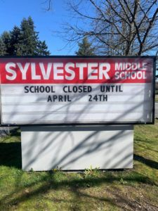 Sylvester Middle School in Burien, Wa. Photo used with permission.