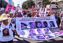 Photo of In Mexico giant march and general strike demand justice for murdered women