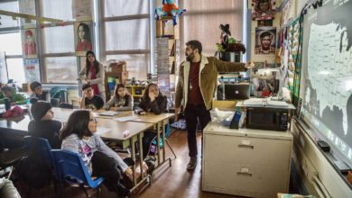 Liberation photo: Frank Lara's classroom. We must teach our communities that they deserve all of the wealth and more