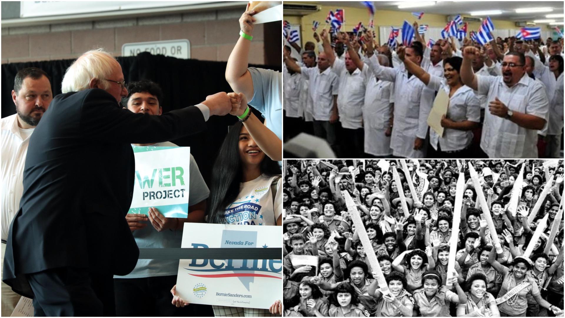 Políticos estadounidenses atacan a Sanders por decir algo bueno de Cuba