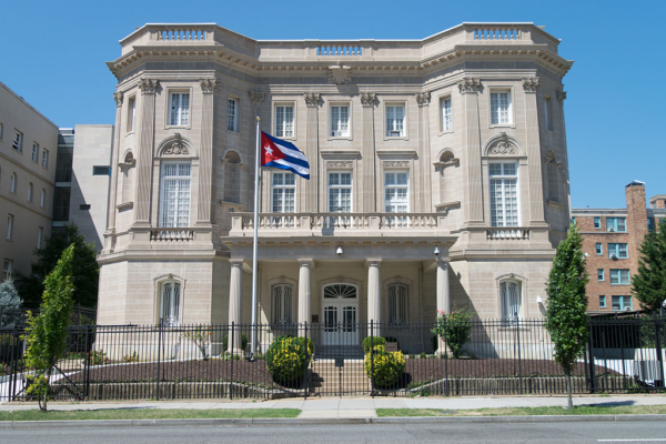 Embassy of the Republic of Cuba in the U.S. Photo: Difference engine / CC BY-SA (https://creativecommons.org/licenses/by-sa/4.0)