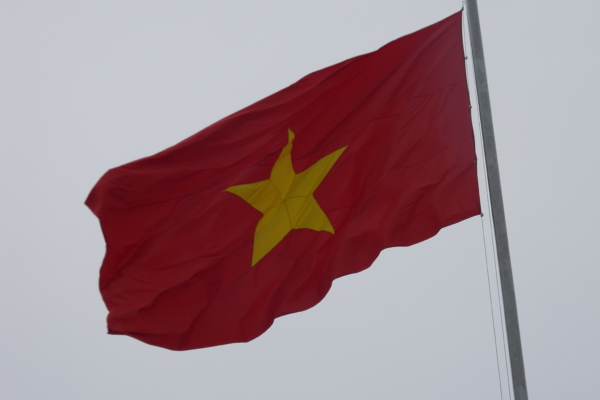 Vietnamese flag. Photo: Ecow / CC0