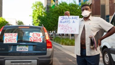 Photo of Sacramento car caravan demands: Cancel the Rent! Stop the Sweeps!