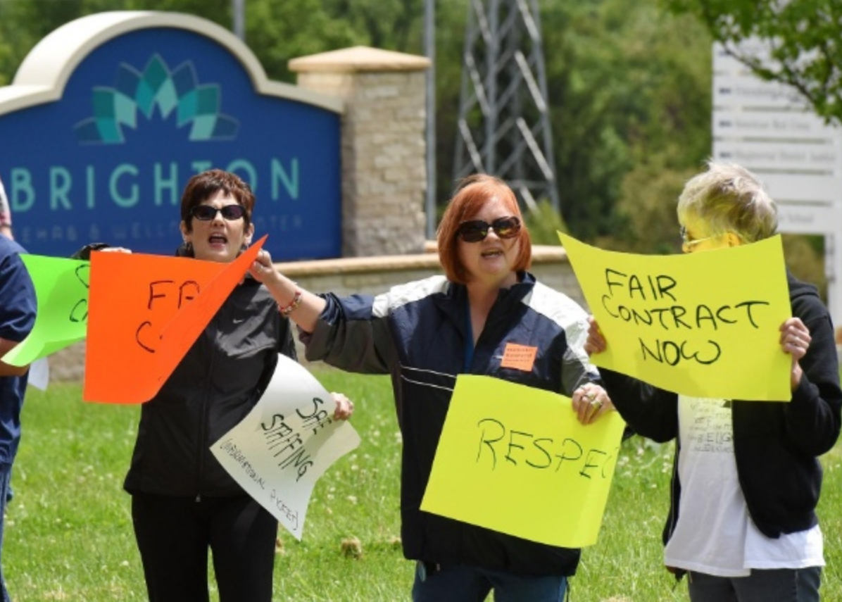 Corporate greed puts over 400 residents' lives at risk at Pennsylvania nursing home
