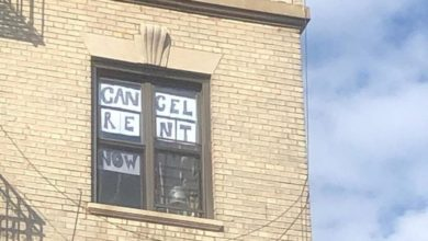 Photo of New Yorkers say: Cancel the rent!