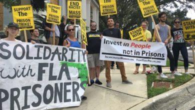 Manifestación de agosto de 2018 en Tallahassee, Florida. Foto: Liberación