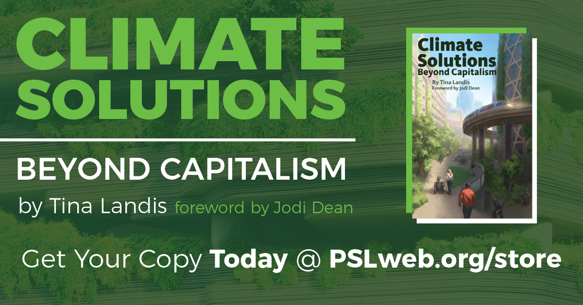 New PSL book: 'Climate Solutions: Beyond Capitalism'