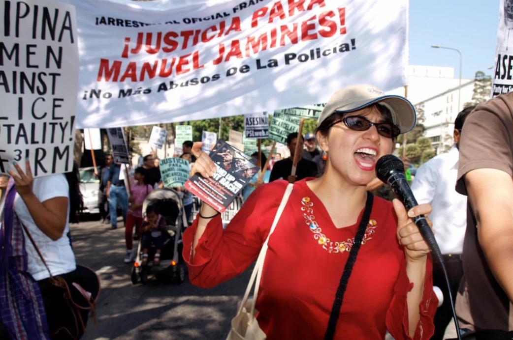 Boyle Heights community demands: fire, arrest officer Hernandez!