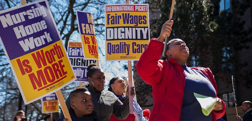 Chicago nursing home workers achieve historic contract