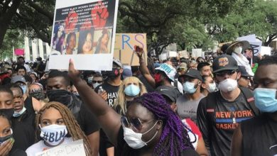 Photo of 60,000 Houstonians take to the streets to demand justice for George Floyd