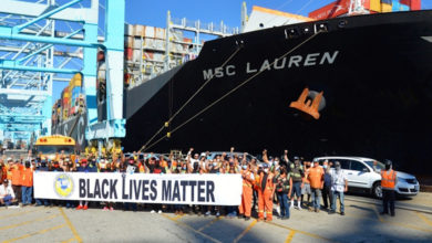 Photo of ILWU leader: 'The way to invoke change is to deny labor'