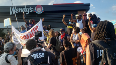 Photo of Rebellions against racism continue in Atlanta after police killing of Rayshard Brooks