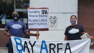 Photo of Bay Area Amazon workers fight for safe working conditions