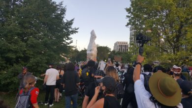 Photo of Black, Indigenous solidarity rally met with violent police force in Chicago