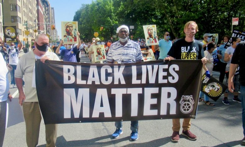 www.liberationnews.org: Labor coalition strikes for Black lives – Liberation News