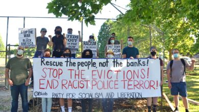Photo of Actions in 40 cities say 'Stop Evictions!'