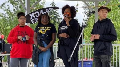 Photo of Shoreline, WA: 13-yr old Black organizer threatened with lynching, community to march in support