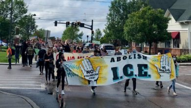 Photo of Protest of ICE data center in Williston, Vermont