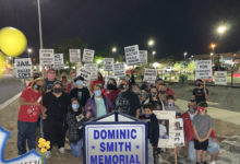 Photo of New memorial for Dominic Smith, killed by ABQ cops in 2009