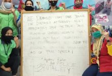 """Photo of Indonesian trade union FSEBUMI supports Denver activists: """"Racism must be fought with the power of solidarity"""""""