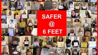Photo of Brookline Educators Union demands changes to MOA: 'We're safer at six feet'