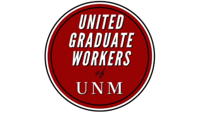 Photo of UNM grad student workers: fight for a union enters final stage