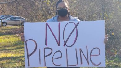 Photo of Byhalia Pipeline protest: 'We do not want this pipeline'