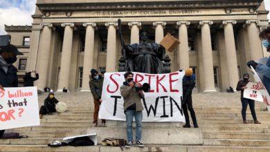 Photo of Columbia U student strike hits high tuition, destruction of Harlem housing